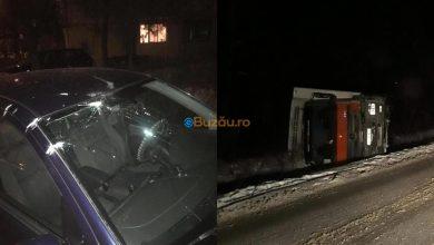 Photo of Mașină avariată, în Micro XIV / Camion răsturnat, tavan prăbușit