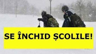 Photo of ULTIMA ORĂ: Se închid școlile în Buzău!