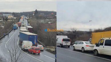 Photo of Impact TIR-Logan, pe drumul spre București