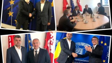 Photo of FOTO: Marcel Ciolacu, vizită de succes în capitala Europei