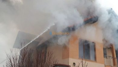 Photo of Vilă din Mărăcineni, cuprinsă de flăcări