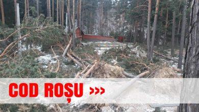 Photo of ANM: Cod roșu de vânt, în județul Buzău